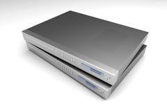 Dispositivos azules del rayo Fotos de archivo libres de regalías
