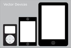 Dispositivos da tela de toque imagens de stock royalty free