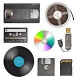 Dispositivos de almacenamiento Fotos de archivo
