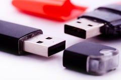 Dispositivos de almacenamiento de los datos Foto de archivo libre de regalías