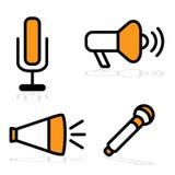 Dispositivos de comunicación Fotografía de archivo libre de regalías