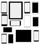 Dispositivos de Digitaces stock de ilustración