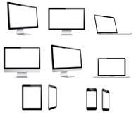 Dispositivos de Electonic Imagem de Stock
