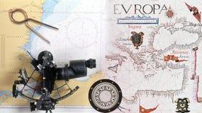 Dispositivos de la navegación Imagen de archivo libre de regalías