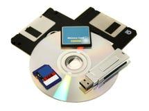 Dispositivos de memória foto de stock