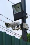 Dispositivos de seguridad Fotografía de archivo