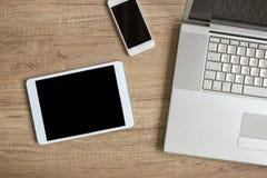 Dispositivos del diseño y del web Fotografía de archivo libre de regalías