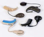 Dispositivos del implante de Cohlear imagenes de archivo