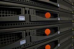 Dispositivos del servidor foto de archivo