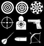 Dispositivos del tiroteo Imagen de archivo libre de regalías