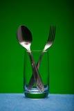 Dispositivos del vidrio y de la cocina Imagen de archivo