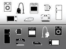 Dispositivos eléctricos. stock de ilustración