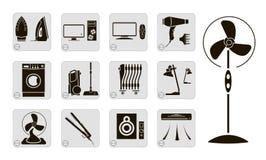 Dispositivos eléctricos Foto de archivo libre de regalías