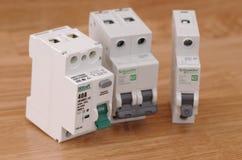 Dispositivos eléctricos Imagen de archivo libre de regalías