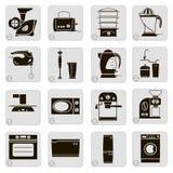Dispositivos eléctricos en la cocina Imagenes de archivo