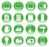 Dispositivos elétricos Fotografia de Stock