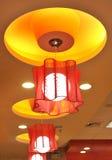 Dispositivos elétricos de iluminação Fotografia de Stock