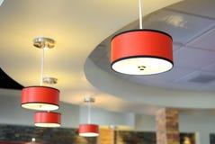 Dispositivos elétricos de iluminação Imagens de Stock