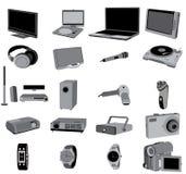 Dispositivos electrónicos Imagem de Stock Royalty Free