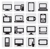 Dispositivos electrónicos Imagens de Stock Royalty Free