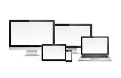 Dispositivos eletrónicos Fotografia de Stock