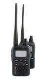 Dispositivos em dois sentidos da radiocomunicação imagem de stock
