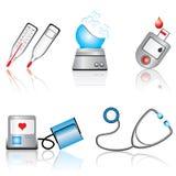 Dispositivos médicos Fotografia de Stock Royalty Free