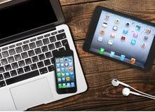 Dispositivos móveis Imagem de Stock