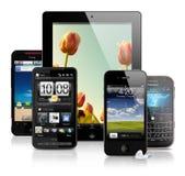 Dispositivos móviles Imagen de archivo libre de regalías