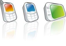 Dispositivos móviles imagen de archivo
