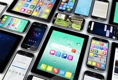 Dispositivos móveis Imagem de Stock Royalty Free