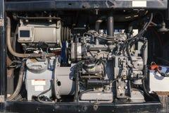 Dispositivos para industrial refrigerado Fotografia de Stock Royalty Free