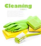 Dispositivos para la limpieza Fotos de archivo
