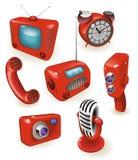 Dispositivos retros Imagens de Stock