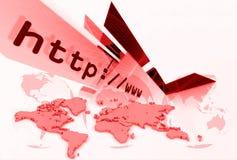 Disposizione 002 del HTTP Fotografia Stock