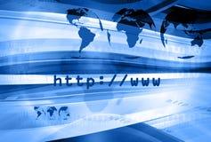 Disposizione 007 del HTTP fotografia stock