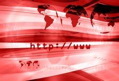 Disposizione 008 del HTTP Fotografia Stock