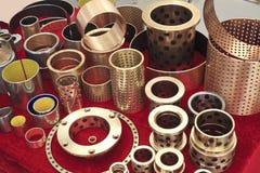Disposizione alla raccolta di rame degli accessori della macchina Fotografia Stock