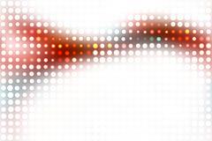 Disposizione d'ardore variopinta dei puntini illustrazione vettoriale