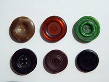 Disposizione dei bottoni per gli insiemi dell'abbigliamento Immagine Stock Libera da Diritti
