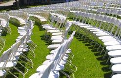 Disposizione dei posti a sedere del prato inglese Fotografia Stock