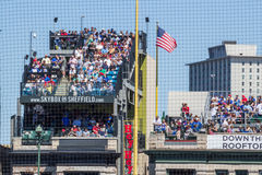 Disposizione dei posti a sedere del tetto di Chicago Cubs Fotografia Stock Libera da Diritti