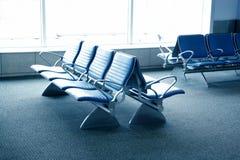 Disposizione dei posti a sedere dell'aeroporto - termine dell'aeroporto Immagine Stock Libera da Diritti