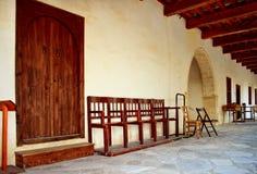 Disposizione dei posti a sedere della chiesa Immagine Stock Libera da Diritti