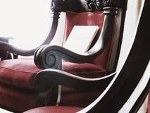 Disposizione dei posti a sedere della peluche Fotografia Stock
