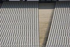 Disposizione dei posti a sedere dello spettatore dello stadio Fotografia Stock