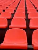 Disposizione dei posti a sedere dello stadio Fotografie Stock