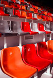 Disposizione dei posti a sedere dello stadio Fotografia Stock Libera da Diritti