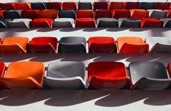 Disposizione dei posti a sedere dello stadio Fotografie Stock Libere da Diritti
