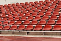 Disposizione dei posti a sedere dello stadio di sport Fotografie Stock Libere da Diritti